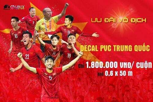 """Từng bừng """"bão giảm giá"""" mừng đội tuyển Việt Nam vô địch SEA GAMES 30"""