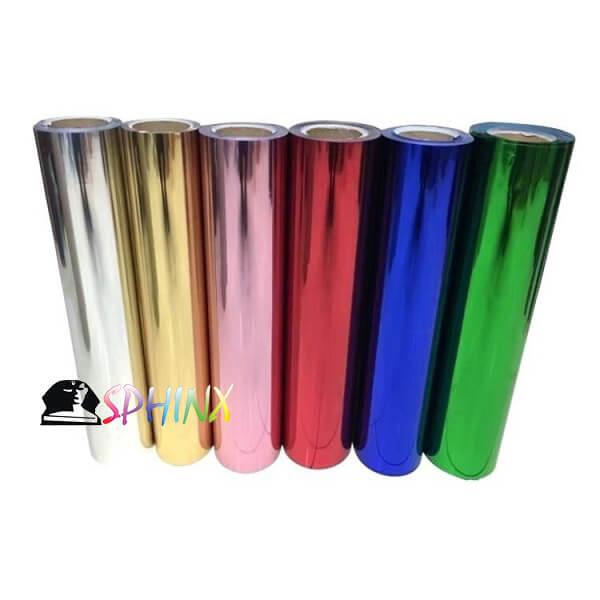 Decal chuyển nhiệt hiệu ứng kim loại Hàn Quốc (Metallic)