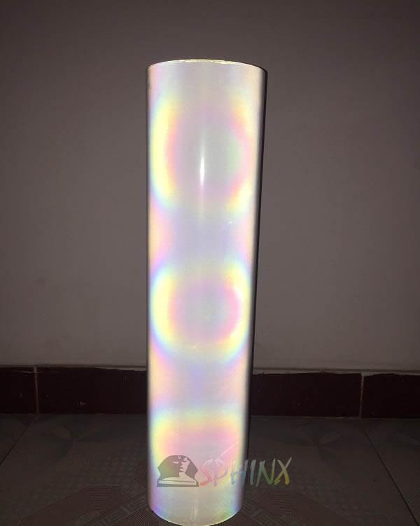 Decal phản quang trắng 7 màu