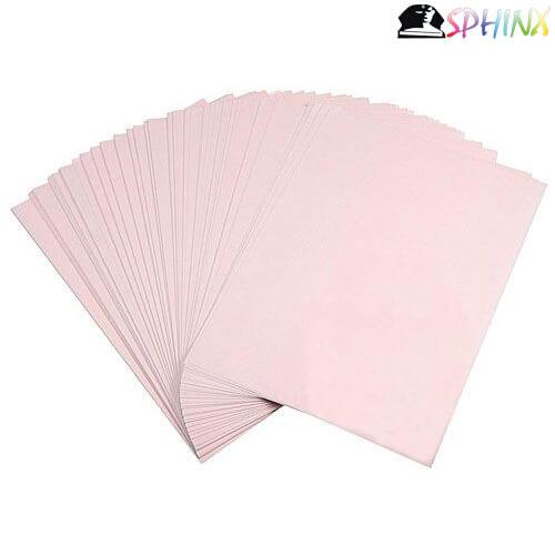 Giấy in chuyển nhiệt màu hồng A3