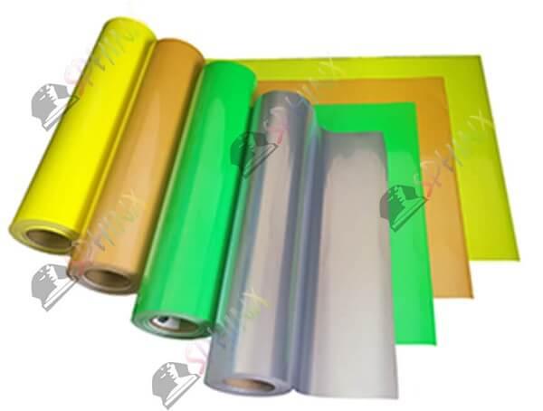 Decal chuyển nhiệt phản quang các màu khổ 60