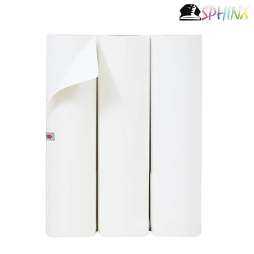 Decal In Cắt Chuyển Nhiệt PVC Trung Quốc Màu Trắng